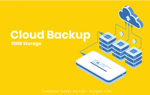 cloud backup banner
