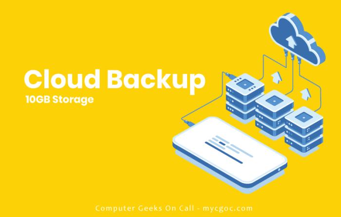 cloud backup banner